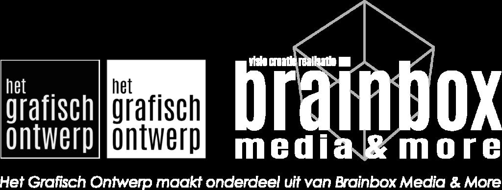 logo's Het Grafisch Ontwerp en Brainbox Media & More